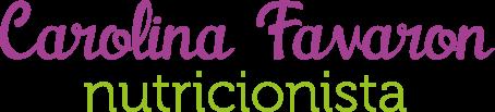 Nutricionista Carolina Favaron
